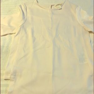 Plain off white H&M blouse